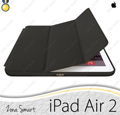 apple smart case ipad air 2 - case cuero cover elegante