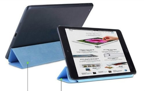 apple smart cover original ipad air 5 + shell cover + film