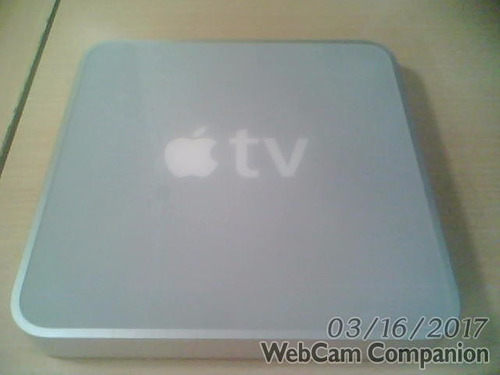 apple tv 1ra generacion modelo a1218 de 160 gb sin control