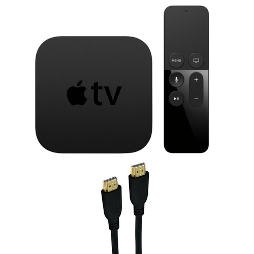 apple tv 32gb hdd 4ta generación con wifi hdmi usb ethernet