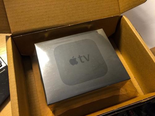 apple tv 4ta generación 64gb nuevo y sellado con garantia