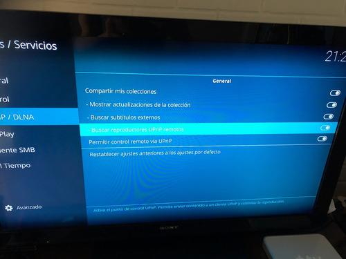 apple tv primera generación con kodi cargado (mediacenter)
