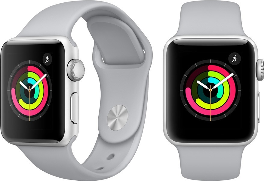 07afcf2b8fd apple watch 38mm series 3 sport band fog prata cinza claro. Carregando zoom.