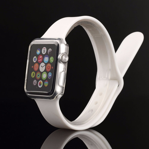 apple watch 38mm y 42mm funda full body empacada+envio dhl