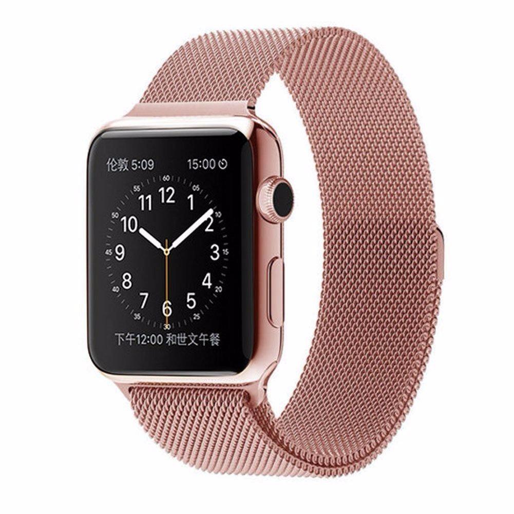 Apple watch 42 series 1 rose gold milanese loop r em mercado livre for Rose gold apple watch