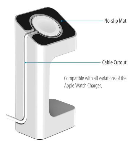 apple watch 42mm 38mm base stand cargador envio gratis