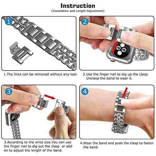 apple watch band 38 mm, swees jewelry jewels pulseras
