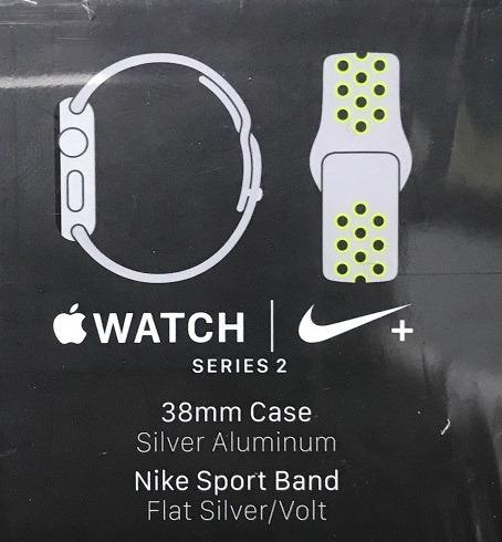 innovative design 3c6e9 132e3 apple watch nike+ plus series 2 s2 38m várias cores lacrados