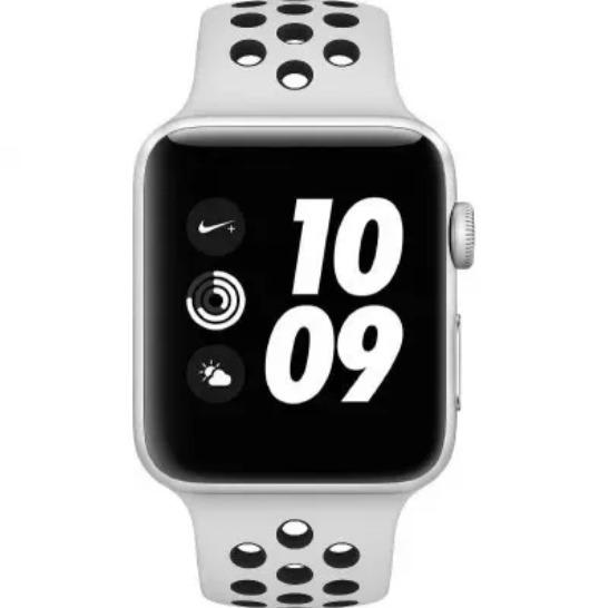 9a886e7e4a8 Apple Watch Nike+ Séries 3 38mm Lacrado - R  1.429