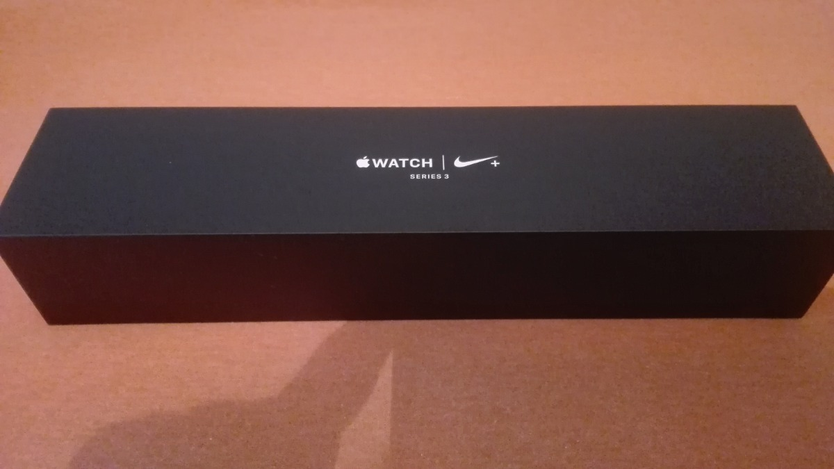Apple Watch Nike+ Series 3, Gps And Cellular, 42mm Silver Al
