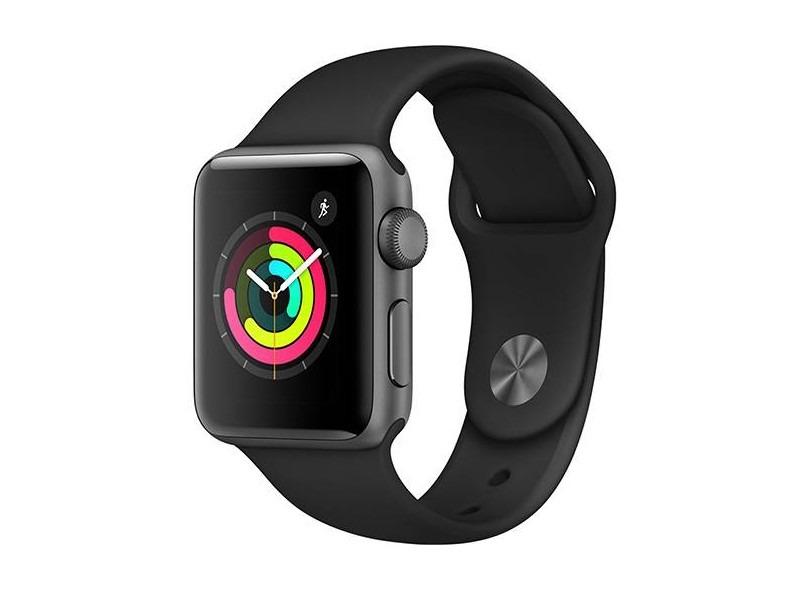 32b1517f0e6 apple watch relogio sport 38mm iphone serie 3 s3 lacrado. Carregando zoom.