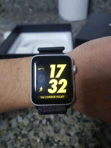 apple watch s3 42mm nike+ gps+celular
