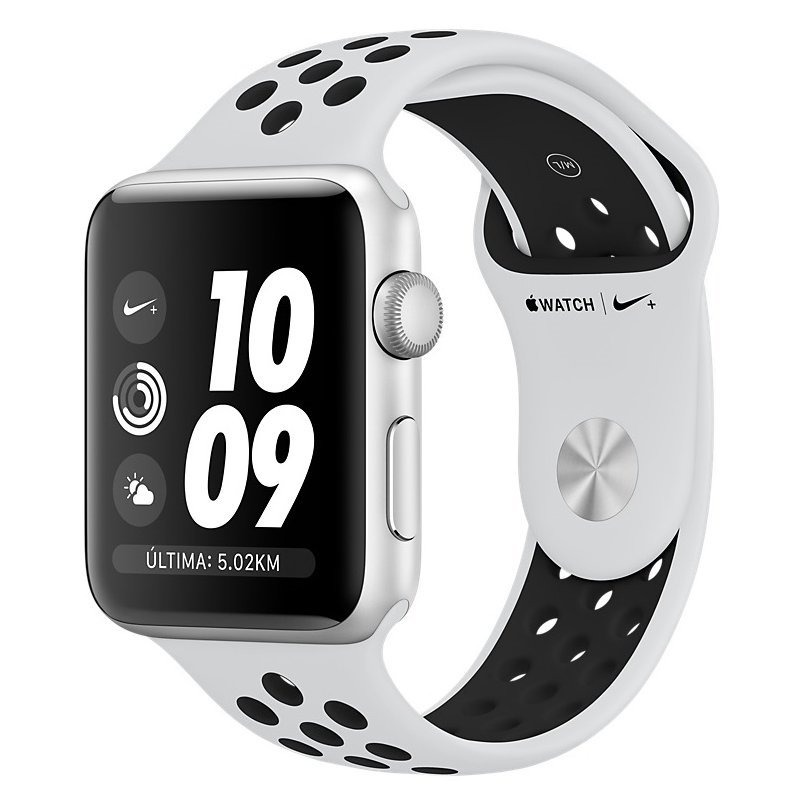 ee26ce97c37 apple watch s3 nike gps alumínio 42mm novo. Carregando zoom.