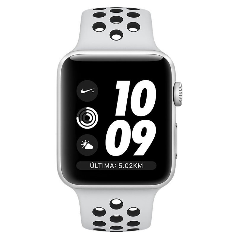 41f345412f8 Apple Watch S3 Nike Gps Alumínio 42mm Novo - R  2.149