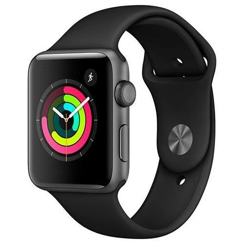 apple watch s3 series 3 42mm gps prova d'água novo + lacrado