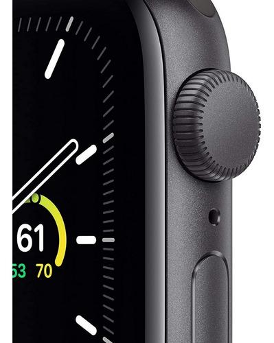 apple watch se gps 40mm - space grey correa deportiva