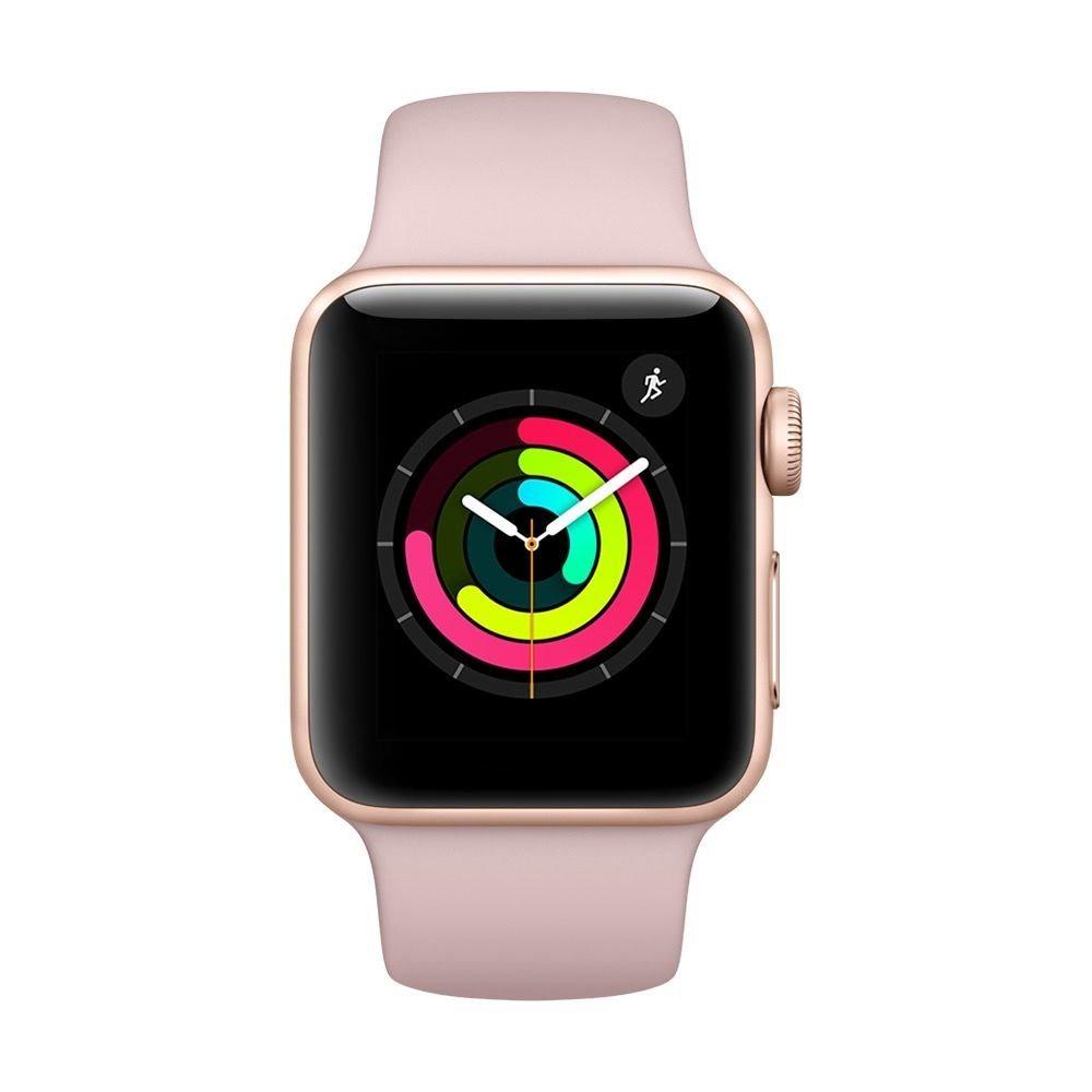 e50b081f3847d apple watch serie 3 38mm smartwatch gold alum case. Cargando zoom.