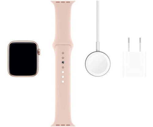 apple watch serie 5 40mm gps/caixa de alumínio rose com puls