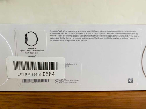 apple watch serie 5 40mm nuevo sellado