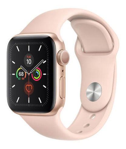 apple watch serie 5 40mm rosado sport aluminium