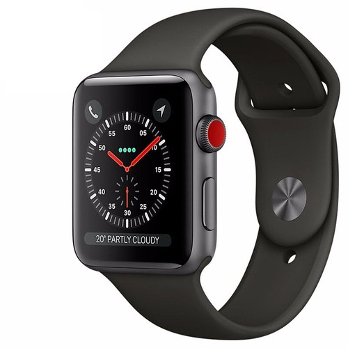 apple watch series 3 42mm gps, caja sellada, factura a