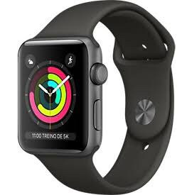 apple watch series 3 42mm gps garantia apple + brinde