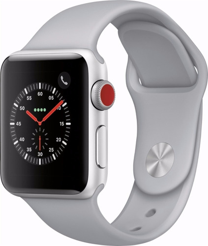 apple watch series 3 42mm gps + lte, caja sellada, factura a