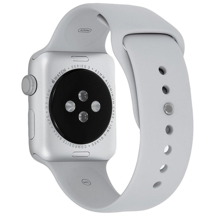 2ebc972a7f5 apple watch series 3 de 42 mm con cuerpo aluminio plata gps. Cargando zoom.