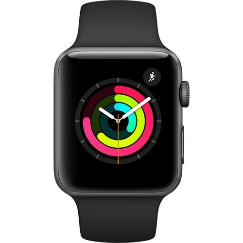 apple watch series 3  sport e nike  varias cores 42mm nfe