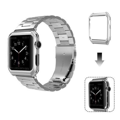 despeje oficial mejor calificado gran variedad de estilos Apple Watch Series 3/2/1 38/42 Mm Acero Inoxidable Pulsera