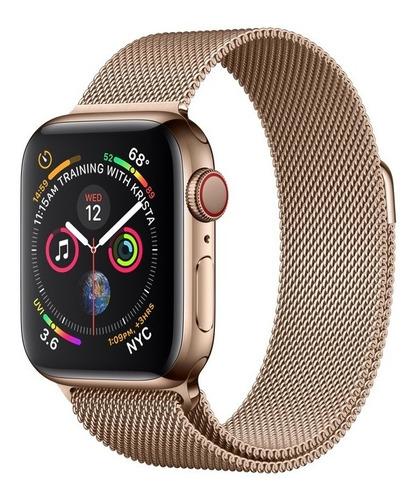 apple watch series 4 gold