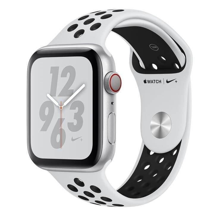 2ce3b869855 Apple Watch Series 4 Gps 44mm Sport Nike Prata - Novo! - R  2.860