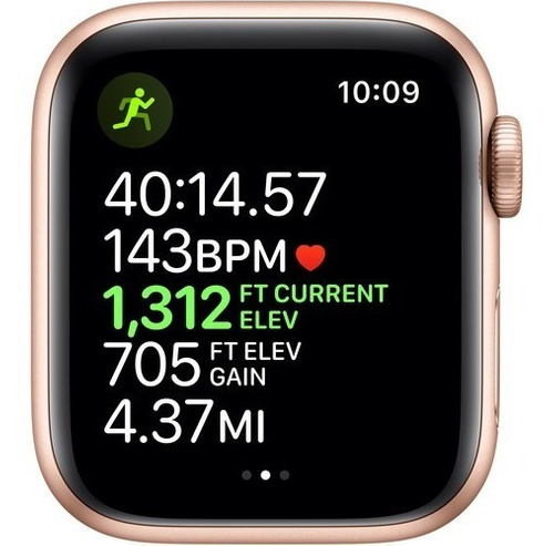 apple watch series 5 gps 40mm gold, pink sand 12x s/juros