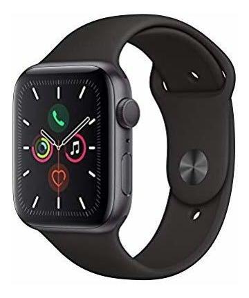 apple watch series 5 gps., watch, 44mm, aluminio gris