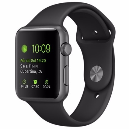 apple watch sport s1 42mm original pronta entrega lacrado
