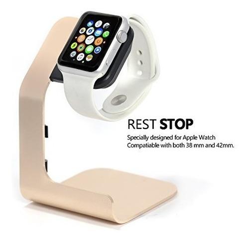 apple watch stand-tranesca de aluminio reloj de apple para s