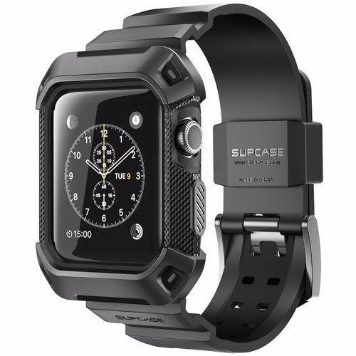 apple watch ub pro rugged case 38 mm protector pantalla