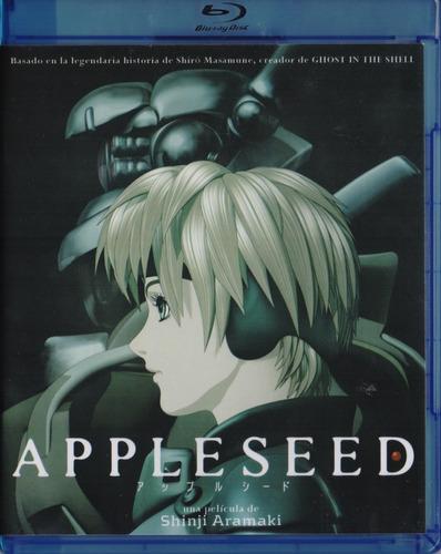appleseed pelicula  en blu-ray