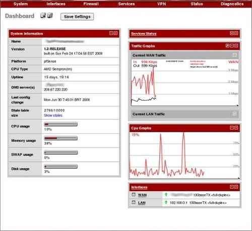Appliance Firewall Quad Core J1900 Pfsense 3 Ou 5 Giga Lan
