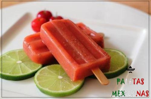 aprenda a fazer paleta mexicana - acerola