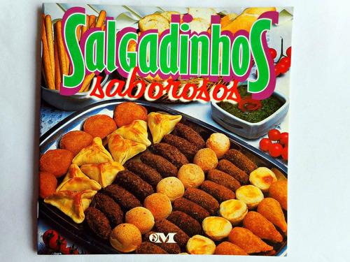 aprenda a fazer salgadinhos saborosos! frete r$8,00