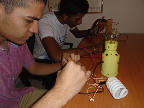 aprenda a reparar bombillos ahorradores