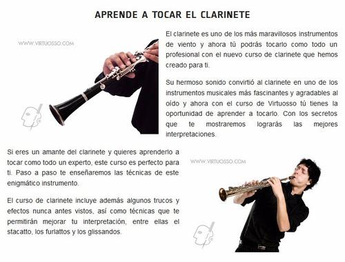 aprenda a tocar el clarinete como un profesional