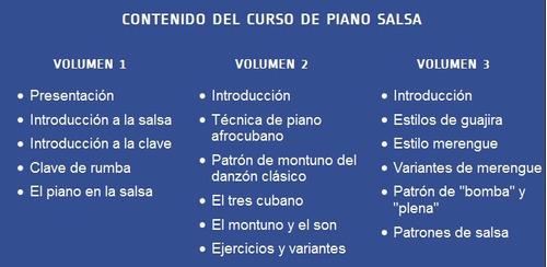 aprenda a tocar piano salsa como un profesional