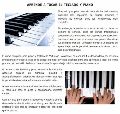 aprenda a tocar teclado como un profesional
