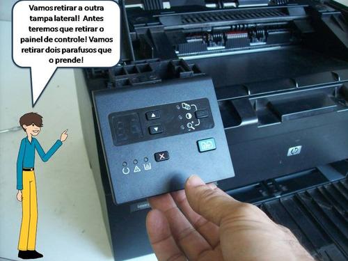 aprenda a trocar placa lógica hp laserjet m1132 mfp
