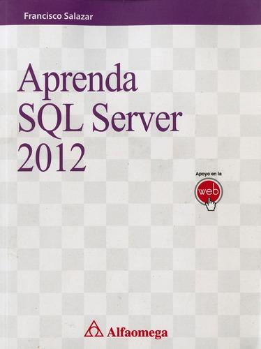 aprenda sql server 2012