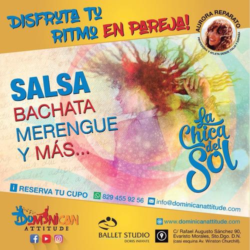 aprende a bailar salsa y bachata!