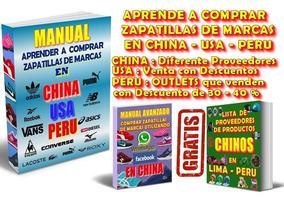 Peru En Aprende Y Revender Zapatillas Comprar A De Marcas XOPkZiu