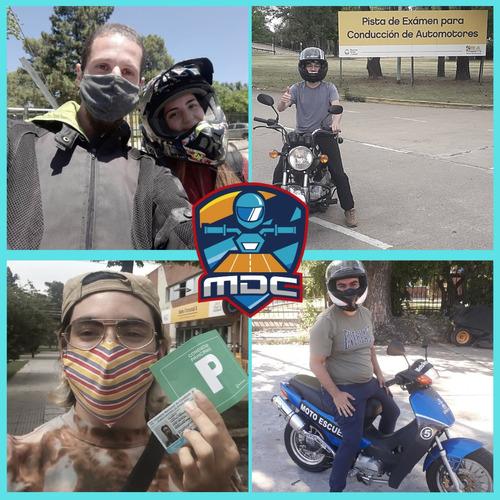 aprendé a conducir una moto desde cero - pack reparto -
